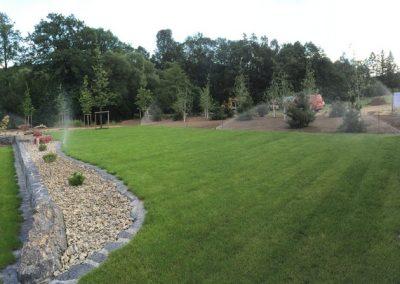 System nawadniający ogród Góry Opawskie