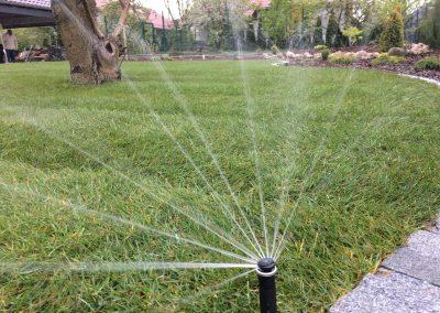 Nawadnianie ogrodu w Reńskiej Wsi woj, opolskie