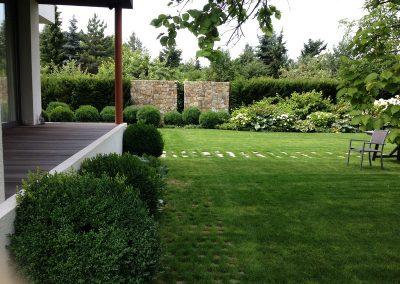 ogród we Wrocławiu realizacja