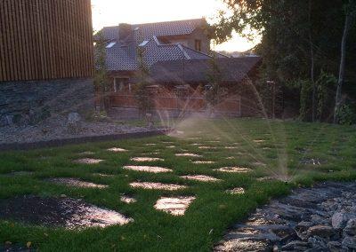 Nawadnianie ogrodów i trawników Góry Opawskie