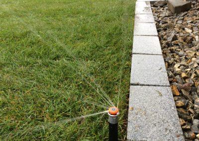 Nawadnianie ogrodów przydomowych w Reńskiej Wsi woj, opolskie